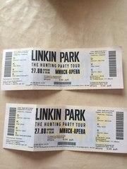 Линкин парк билеты.