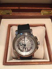 Оригинальные швейцарские часы Breguet marine  chronograph,  б/у