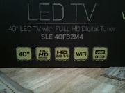Новый телевизор LED 40''(102 см) SMART TV,  WI-FI