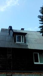 Мойка,  очистка,  окраска шифера,  крыш,  катепала,  черепицы Забудова,  фасадов зданий.