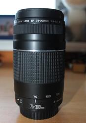 Объектив CANON EF 75-300 mm f/4-5.6 III