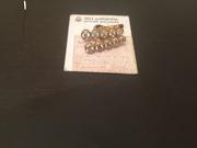 Срочно!!! Золотые серьги с якутскими бриллиантами 0.871 карат!