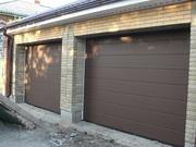 Ворота секционные в гараж (утепленные)