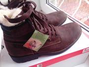 Новые зимние ботинки RIEKER размер 42,  производство Германия