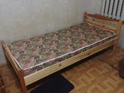 Кровать 1, 5 с матрасом