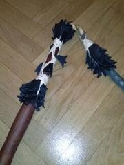 сувенирный венгерский пастуший кнут, длина 2.5 метра..Новый