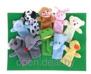 Мягкие игрушки на пальцы Зоопарк