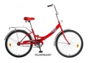 Велосипед 24 Novatrack FS складной