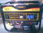 Бензогенератор Форте 8000Е  6.5квт-новый.