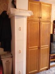 Шкаф для одежды с антресолью