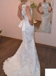 Платье рыбка свадебное
