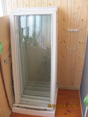 Окна деревянные от лоджии