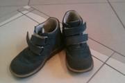 Ботинки детские кожаные б/у продам