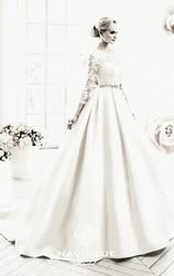Шикарное свадебное платье Naviblue