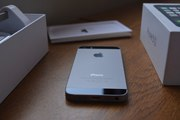 Оригинальный Apple iPhone 5s 16gB - Space Gray Чёрный