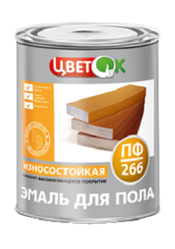 Лакокраска,  краска эмаль для пола ПФ-266 - Купить оптом в Беларуси