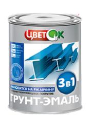 Купить грунт - эмаль 3 в 1 оптом в Беларуси. Грунт- эмали 3в1 опт