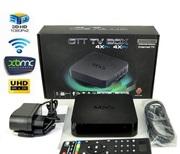 Четырехъядерная интернет ТВ приставка MXQ OTT TV Box. Android 4.4. Мин