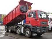 Услуги самосвала MANTGA 30 тонн