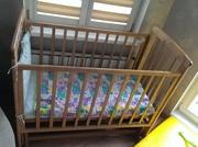 Кроватка 60*120 из березы