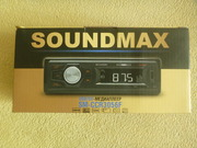 магнитола Soundmax SM-CCR3057F c USB MP3 SD FM AUX новая