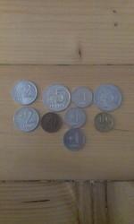 Монеты России,  Литвы,  Украины,  Болгарии,  Польши.
