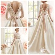 Продам свадебное платье со шлейфом (Фирма Naviblue,  США)