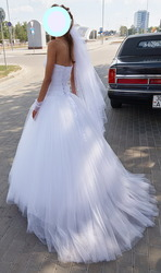 Свадебное платье  р-р 40-42
