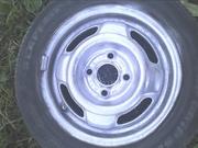 Стальные колеса  GM R 13 Opel,  бу. 2шт.  ET 49