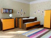 Двухъярусные кровати по индивидуальному проекту