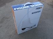 Коньки ледовые FORA PW-215W белые