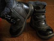 ботинки зимние для мальчика на меху
