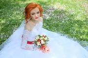Продам свадебное платье Р-р40-44 б/у,  220€