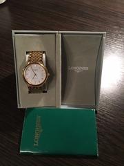 Часы LONGINES,  оригинал,  серия L5.634.2.12.6 ,  механика.