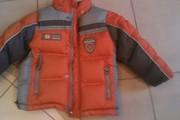 Комбинезон детский с курткой  б/у продам