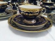 Фарфоровая посуда Weimar Porzellan. Кофейный сервиз.