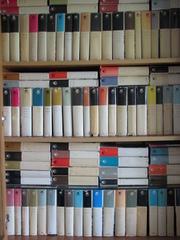 Книги из Библиотеки всемирной литературы (БВЛ)