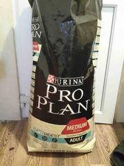 корм pro plan medium adult для собак ягненок с рисом