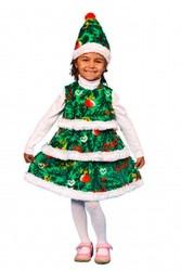Карнавальный костюм Елочкадля девочки напрокат,  в аренду