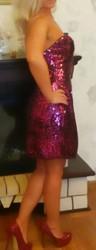 Новое коктельное платье,  42-44 размер