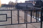 Металлические ритуальные ограды. Бесплатная доставка по всей РБ!