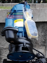 Насос фекальный дренажный водяной погружной канализационный 3350 Вт.