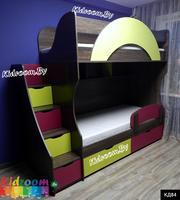 Купить двухъярусная кровать в детскую комнату