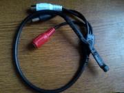 Активный микрофон для систем видеонаблюдения