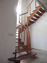 Изготовим деревянные ограждения лестниц по доступным ценам