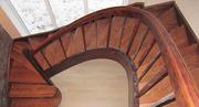 Бюджетный вариант лестниц