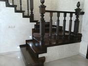 Элитные деревянные лестницы из любых пород древесины