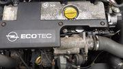 Двигатель для Опель Зафира,  2002 год