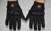 Кожаные мотоперчатки ICON Pursuit Perforated black,