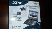 Портативный DVD плеер XPX EA-9066 тв-тюнер аналоговый торг